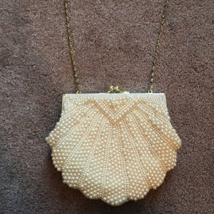 Handbags - LaRegale Pearl Evening Bag/Clutch